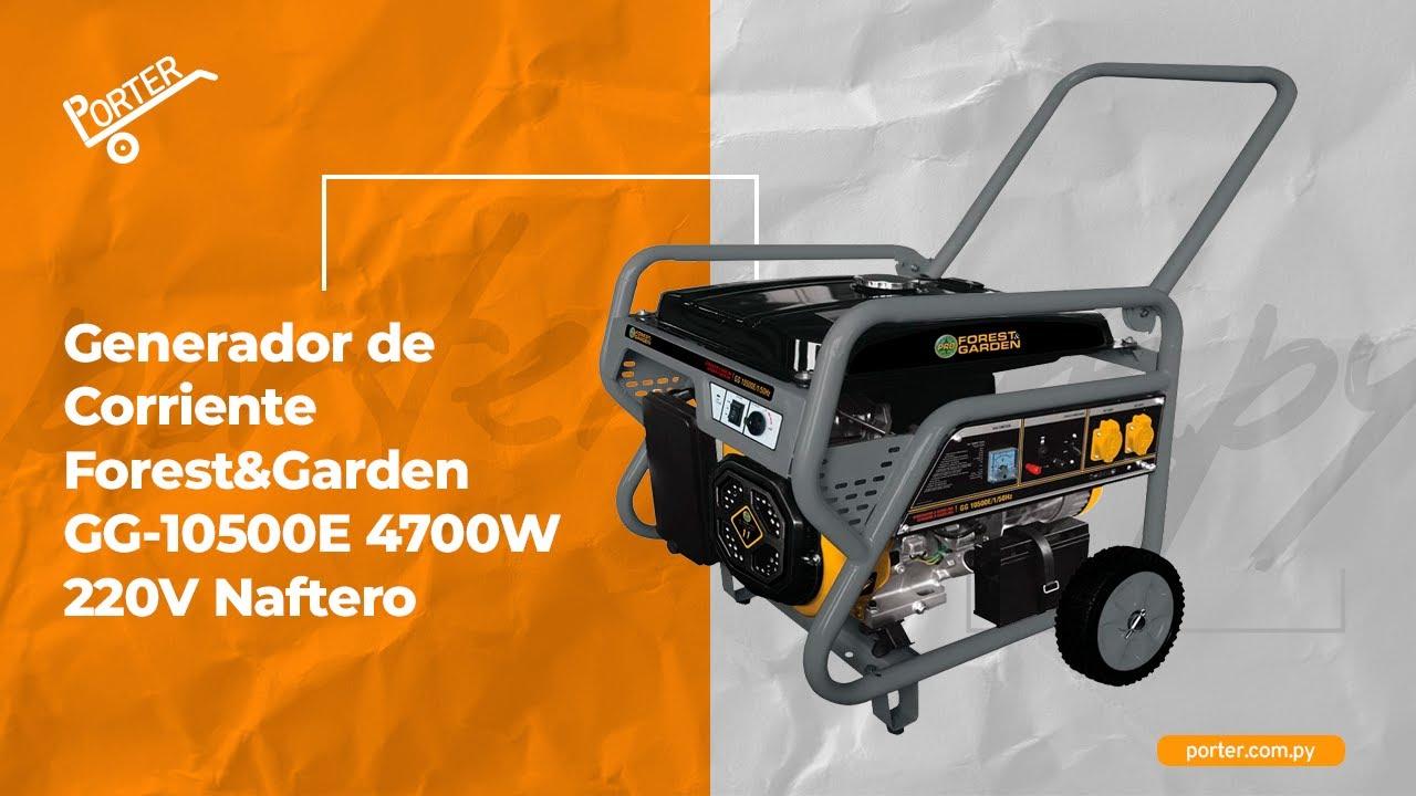 Generador de corriente forest garden gg 10500e 4700w 11hp - Generador de corriente ...