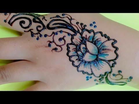 Henna Tattoo Colour