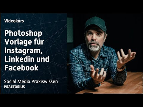 Photoshop-Aktion: die Karussell-Vorlage für Instagram, Linkedin und Facebook