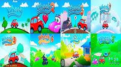 Wheely All Games 1 - 8 Walkthrough All Levels