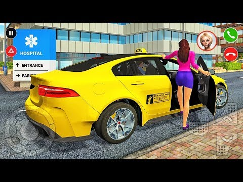 Taxi Game 3 - Cab Car Service Driving Simulator - Android Gameplay