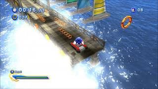 Sonic Generations ~ Wave Ocean The Inlet
