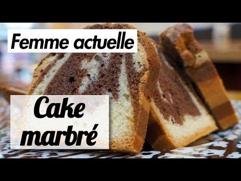 le-cake-marbré-au-chocolat---recette-de-chef