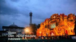 Azan Indonesia Subhanallah,,, sangat merdu,,,,,