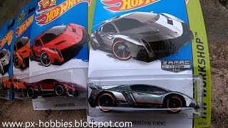 UNBOXING Hot Wheels Lamborghini Veneno Zamac 2015, Yes I LOVE IT!