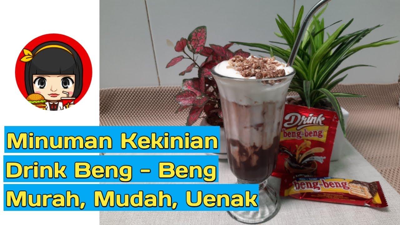 Resep Minuman Kekinian-Iced drink Beng Beng, minuman ...