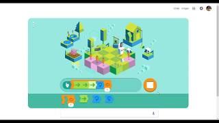 [Shortest Solution level 6] Google 50 years of kids programming language