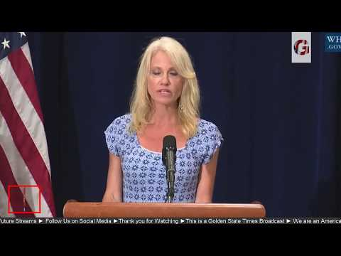 WATCH:Trump Administration Press Briefing with Sec Tom Price & kellyanne conway on Opioid Crisis