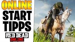 DIE BESTEN TIPPS ZUM START - SCHNELL GOLD MACHEN & AUSGEBEN | Red Dead Redemption 2 Online