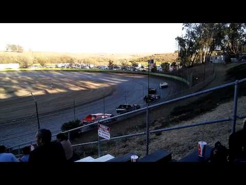 Tim Cecil Santa Maria Speedway Heat 9.6.15
