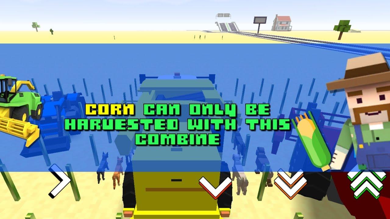 Wrong Way To Farm - Blocky Farm Racing And Simulator | Android/IOS