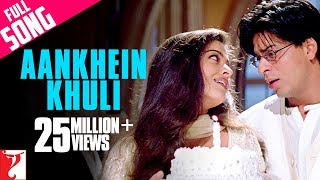 Video Aankhein Khuli - Full Song | Mohabbatein | Shah Rukh Khan | Aishwarya Rai download MP3, 3GP, MP4, WEBM, AVI, FLV Juli 2018
