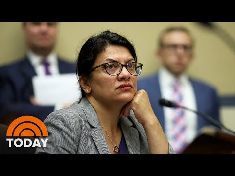 President Trump Slams Rep. Rashida Tlaib For Rejecting Israel's Conditional Invite | TODAY