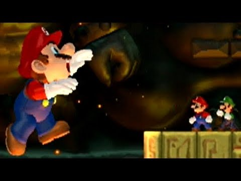 New Super Mario Bros Wii - Evil Mario Boss Battle (2 Players)
