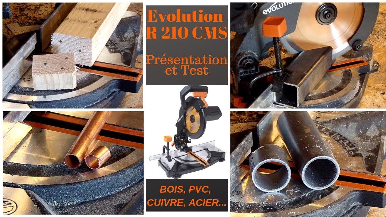 La Plus Poyvalente Scie à Onglets Test R210cms Evolution