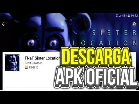 DESCARGA FNAF SISTER LOCATION APK OFICIAL ANDROID & iOS!