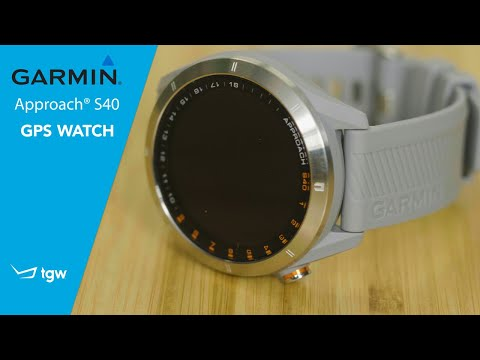 Garmin Approach S40 GPS Watch Review