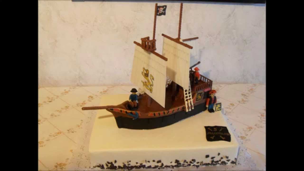how to make a pirate cake video