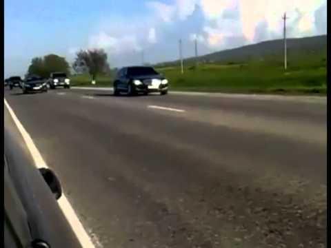 92 cars in Putin's Escort