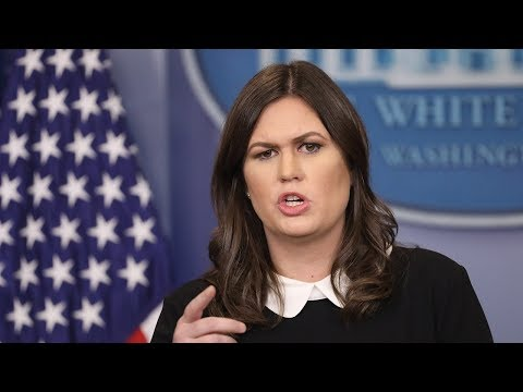 Watch Now: White House Press Briefing with Sarah Huckabee Sanders