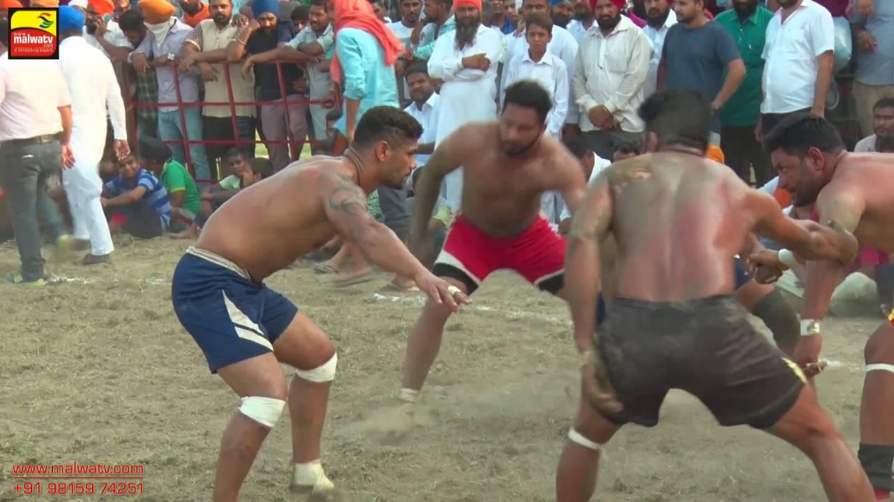NANGLI (Amritsar) | KABADDI  - 2016 | GHARYALA vs BOPARAWAN | 1st SEMIFINAL  | Full HD | Part 3rd