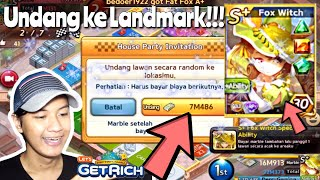 GAMEPLAY S+ FOX WITCH!!! CARD GG BANKRUPT??! | LINE LET'S GET RICH INDONESIA