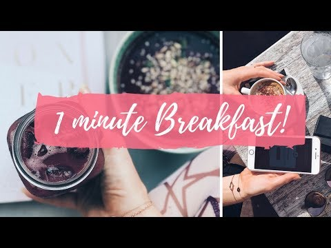 5 QUICK & HEALTHY ON THE GO BREAKFASTS | BEGINNERS GUIDE TO FOOD PREP!