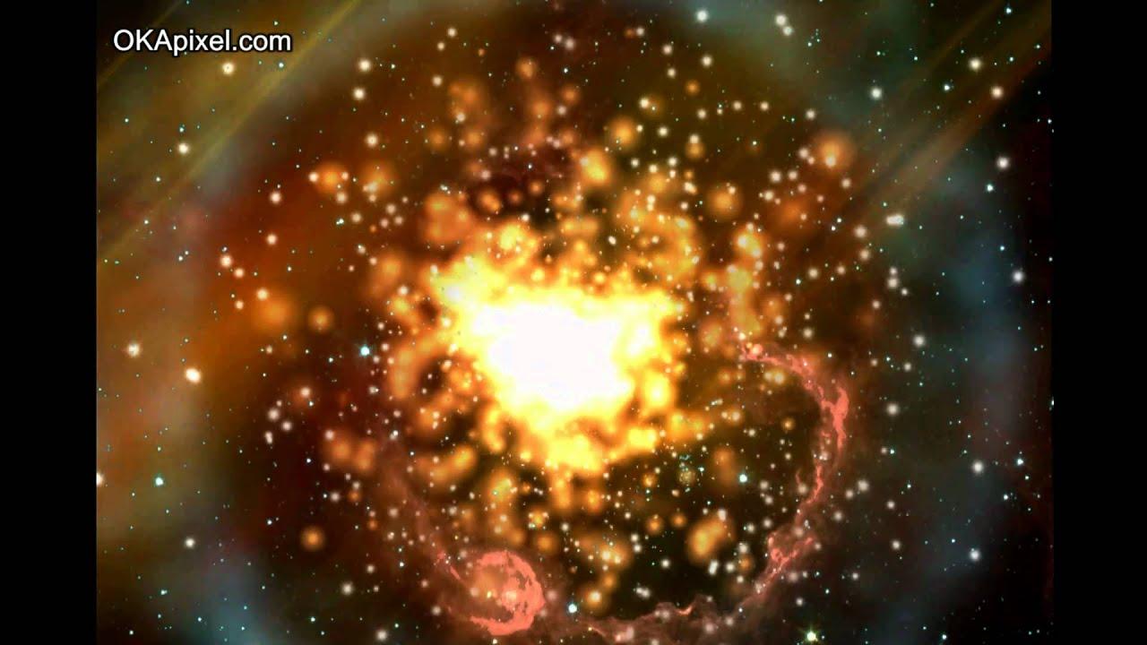 Supernova Explosion Animation Nuclear Fusion - YouTube