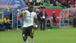Гана 1:0 Уганда. Кубок Африканских Наций 2017.  Обзор матча 17.01.2017 [HD]