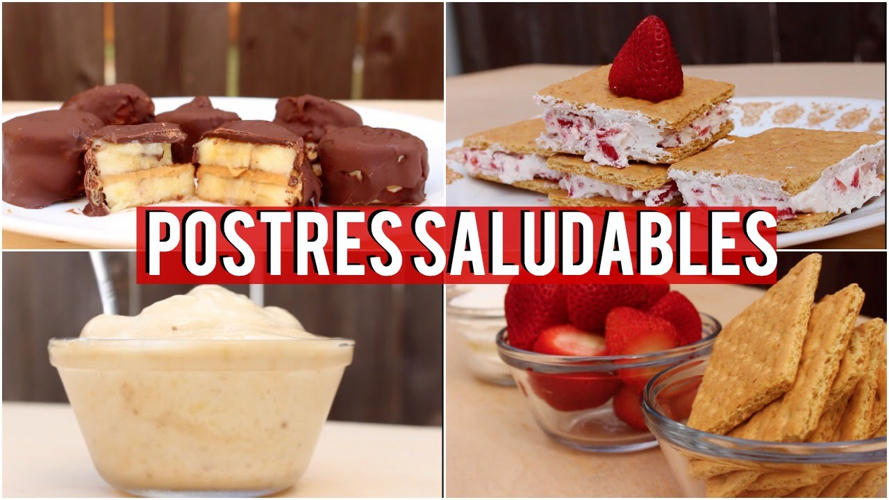 Postres saludables recetas faciles y economicas sin for Comidas faciles y saludables
