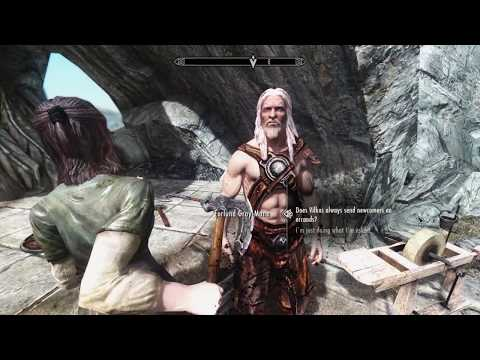 What its like to Play Skyrim ONLINE