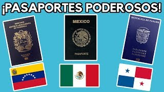 LOS PASAPORTES MÁS PODEROSOS DE LATINOAMÉRICA