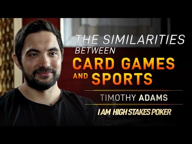 Timothy Adams - Similarities between Poker and Sports