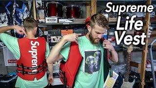 SUPREME life vest jacket FULL DETAILED REVIEW | Christian Hypebeast