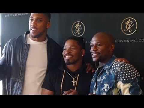SHAWN PORTER RUNS INTO FLOYD MAYWEATHER AND ANTHONY JOSHUA; STUCK BETWEEN MONEY AND A BEAST