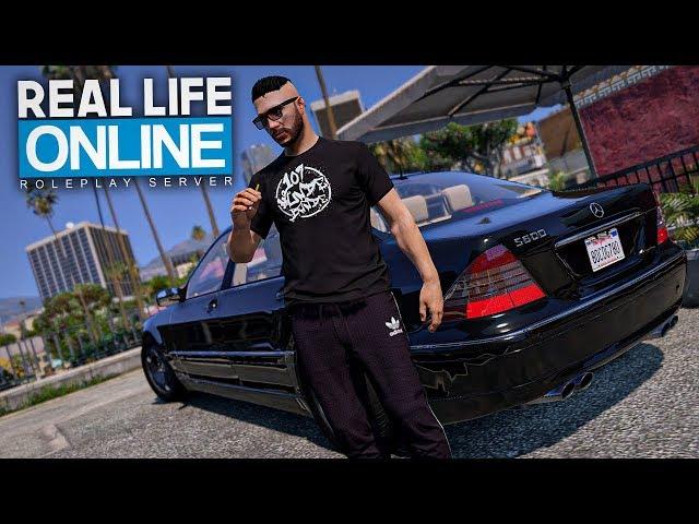 107 Verfolgungsjagd im KUGELSICHEREN BENZ! - GTA 5 Real Life Online