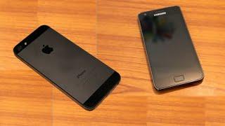Телефон после ремонта - iPhone 5, Samsung после замены стекла(Приходится иногда ремонтировать телефон после ремонта. В видео открываю секреты качественного ремонта,..., 2014-11-30T22:01:29.000Z)