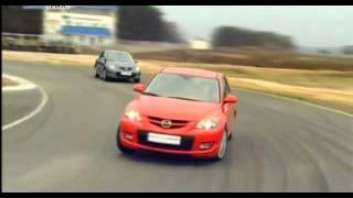 Тест драйв Mazda 3 MPS ч.2