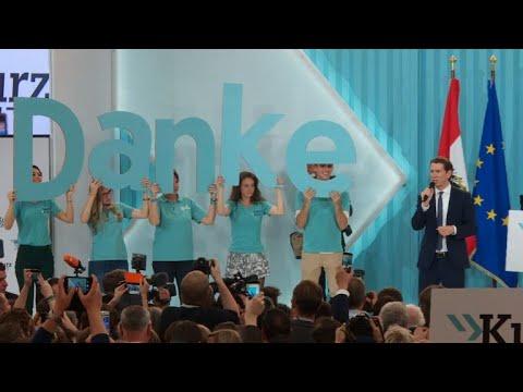 Austrian 'whizz-kid' in election triumph