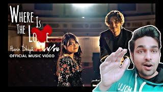 Gambar cover Hanin Dhiya feat NIve | Reaction |Where Is The Love (Official Music Video)