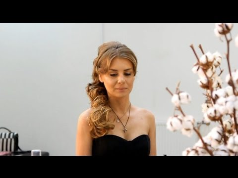 Видео урок: Греческая причёска - 5