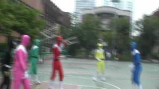 04 金剛戰士 go go power rangers 超人也是要運動的