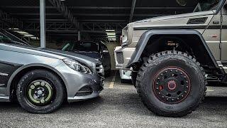 We take a 37-inch wheel off a Brabus G700 6x6! | #MTHRFKNWIN