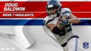 Doug Baldwin's 9 Grabs, 92 Yards & 1 TD vs. New York! | Seahawks vs. Giants | Wk 7 Player Highlights