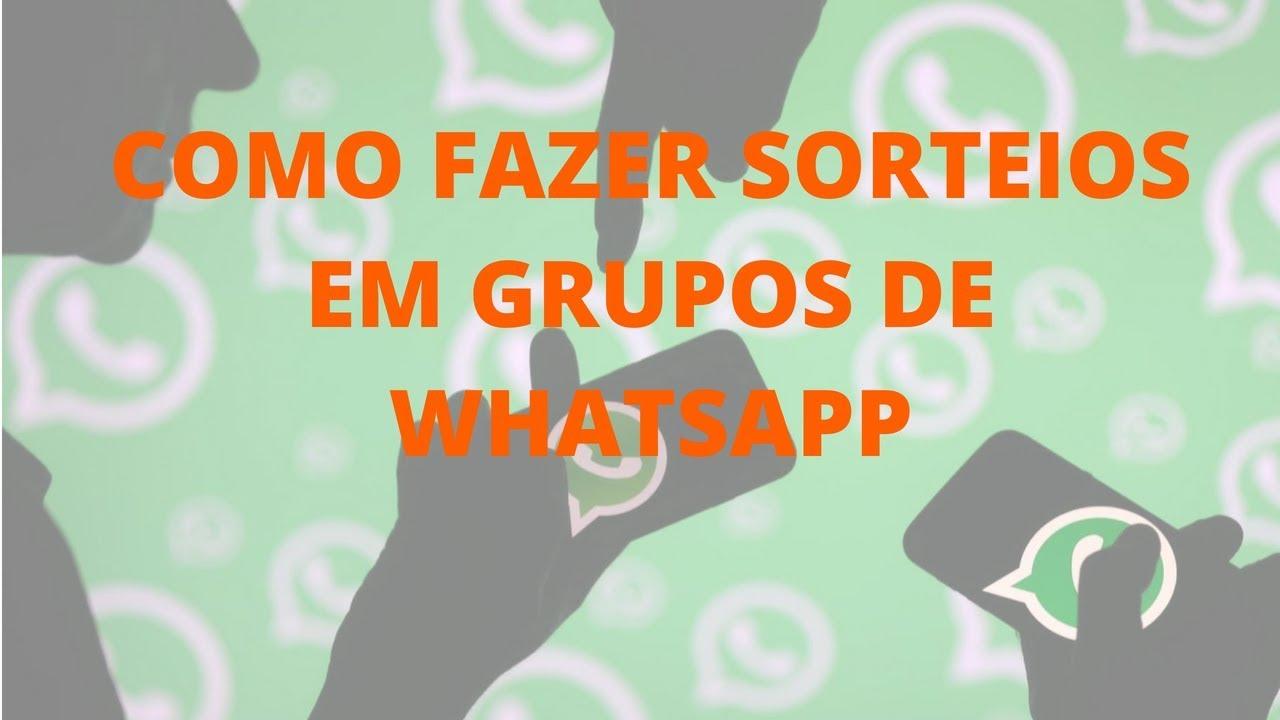 como fazer grupo no whatsapp