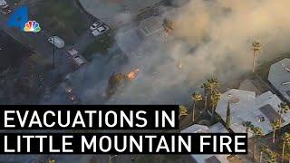 San Bernardino Fire Burns Homes, Forces Evacuations | NBCLA