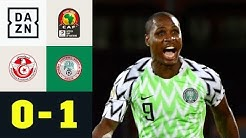 Odion Ighalo schießt Super Eagles zu Bronze: Tunesien - Nigeria 0:1 | Afrika Cup | DAZN Highlights