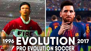 Pro Evolution Soccer Games - Evolution (1996-2018)