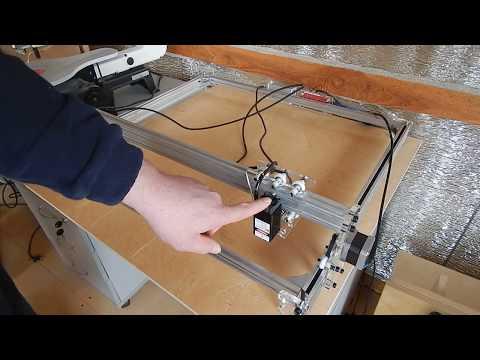 Лазерно гравировальный станок с Aliexpress