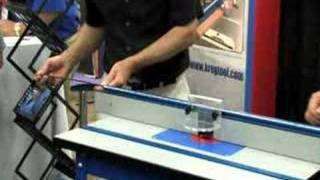 Kreg Precision Benchtop Router Table Presented By Woodcraft